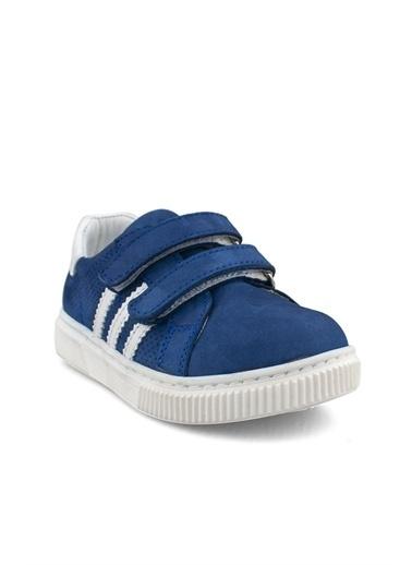 Cicibebe Deri Havuzlu Erkek Çocuk Ayakkabısı Lacivert